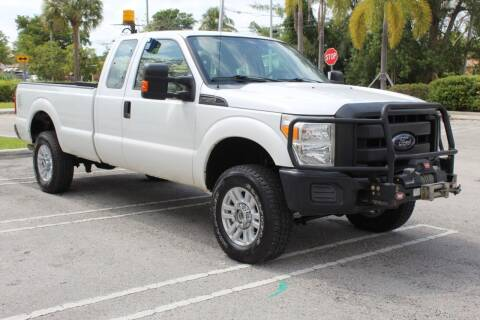2014 Ford F-250 Super Duty for sale at Truck and Van Outlet in Miami FL