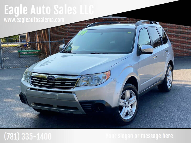 2009 Subaru Forester for sale at Eagle Auto Sales LLC in Holbrook MA
