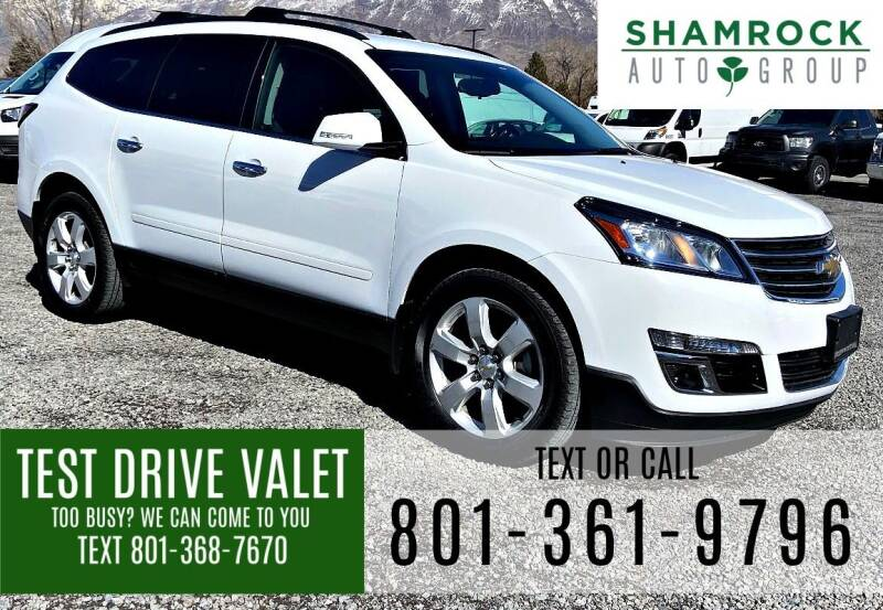 2017 Chevrolet Traverse for sale at Shamrock Group LLC #1 in Pleasant Grove UT