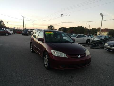 2004 Honda Civic for sale at Kelly & Kelly Supermarket of Cars in Fayetteville NC