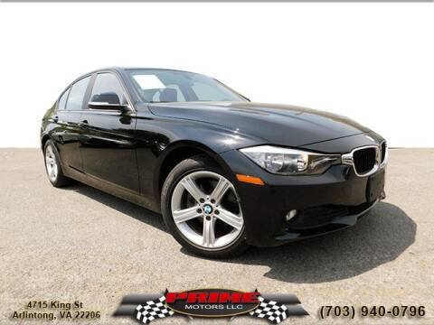 2014 BMW 3 Series for sale at PRIME MOTORS LLC in Arlington VA