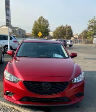 2015 Mazda MAZDA6 for sale at Global Auto Group in Fontana CA