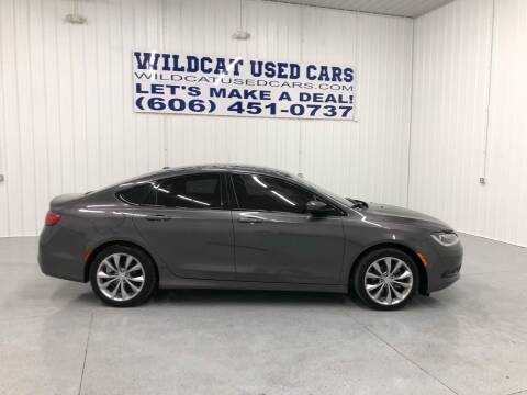 2015 Chrysler 200 for sale at Wildcat Used Cars in Somerset KY