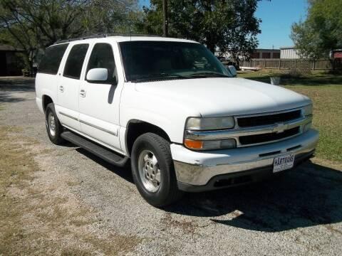 2002 Chevrolet Suburban for sale at Hartman's Auto Sales in Victoria TX