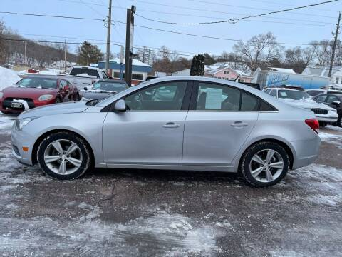 2012 Chevrolet Cruze for sale at RIVERSIDE AUTO SALES in Sioux City IA