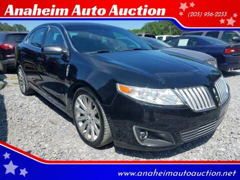 2010 Lincoln MKS for sale at Anaheim Auto Auction in Irondale AL