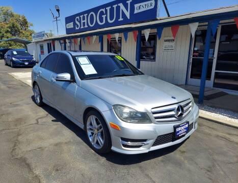 2013 Mercedes-Benz C-Class for sale at Shogun Auto Center in Hanford CA