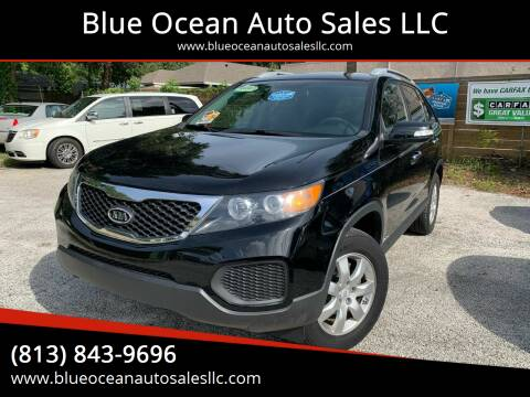 2011 Kia Sorento for sale at Blue Ocean Auto Sales LLC in Tampa FL