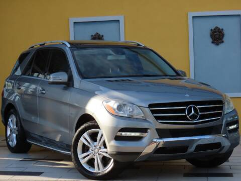 2012 Mercedes-Benz M-Class for sale at Paradise Motor Sports LLC in Lexington KY