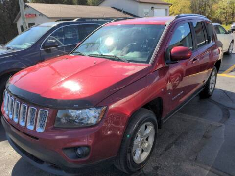 2016 Jeep Compass for sale at West Point Auto Sales in Mattawan MI