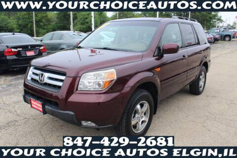 2008 Honda Pilot for sale at Your Choice Autos - Elgin in Elgin IL