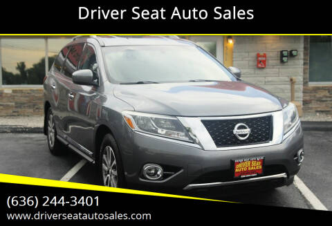 2015 Nissan Pathfinder for sale at Driver Seat Auto Sales in Saint Charles MO