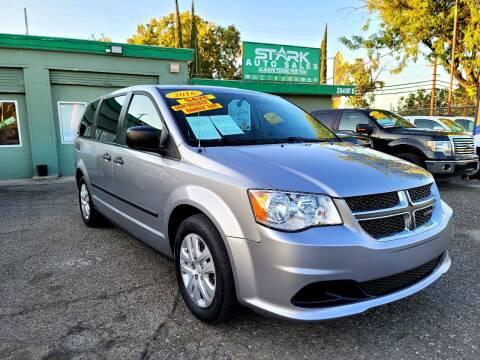 2016 Dodge Grand Caravan for sale at Stark Auto Sales in Modesto CA