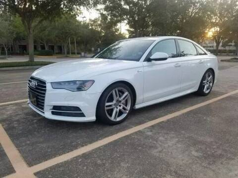 2016 Audi A6 for sale at Mid-Town Auto in Houston TX