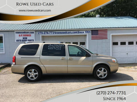 2006 Chevrolet Uplander for sale at Rowe Used Cars in Beaver Dam KY