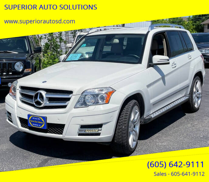 2012 Mercedes-Benz GLK for sale at SUPERIOR AUTO SOLUTIONS in Spearfish SD