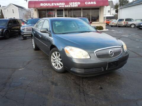 2009 Buick Lucerne for sale at Boulevard Used Cars in Grand Haven MI