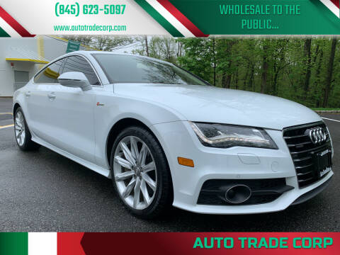2015 Audi A7 for sale at AUTO TRADE CORP in Nanuet NY