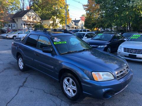 2006 Subaru Baja for sale at Emory Street Auto Sales and Service in Attleboro MA