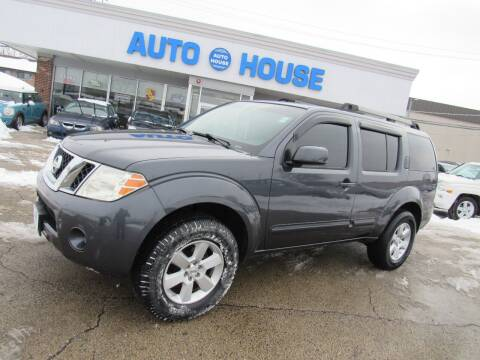 2010 Nissan Pathfinder for sale at Auto House Motors in Downers Grove IL