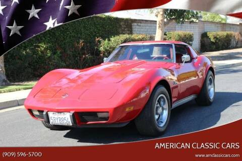 1976 Chevrolet Corvette for sale at American Classic Cars in La Verne CA