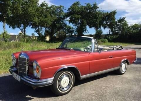 1967 Mercedes-Benz 280-Class for sale at Classic Car Deals in Cadillac MI