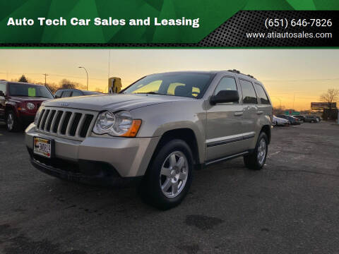 2008 Jeep Grand Cherokee for sale at Auto Tech Car Sales and Leasing in Saint Paul MN