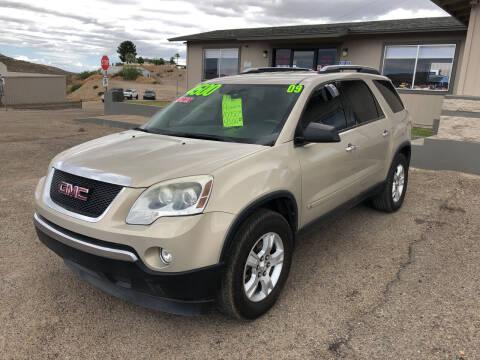 2009 GMC Acadia for sale at Hilltop Motors in Globe AZ