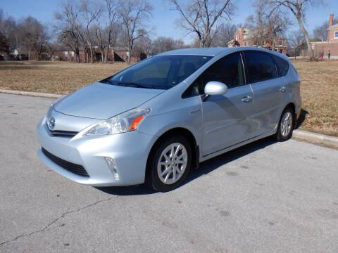2013 Toyota Prius v for sale at RENNSPORT Kansas City in Kansas City MO