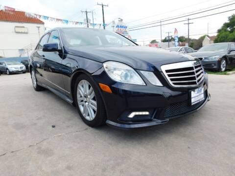 2011 Mercedes-Benz E-Class for sale at AMD AUTO in San Antonio TX