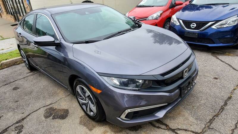 2020 Honda Civic for sale at Divine Auto Sales LLC in Omaha NE