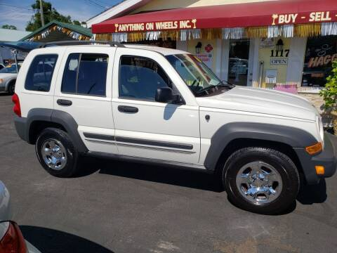 2007 Jeep Liberty for sale at ANYTHING ON WHEELS INC in Deland FL