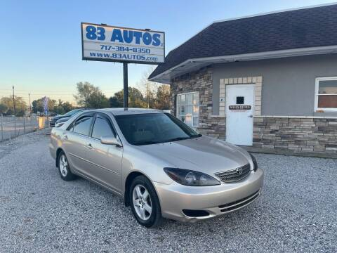 2003 Toyota Camry for sale at 83 Autos in York PA