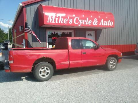 2000 Dodge Dakota for sale at MIKE'S CYCLE & AUTO in Connersville IN