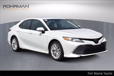 2018 Toyota Camry for sale at BOB ROHRMAN FORT WAYNE TOYOTA in Fort Wayne IN