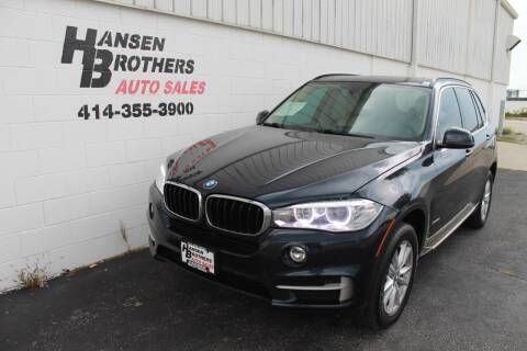 2015 BMW X5 for sale at HANSEN BROTHERS AUTO SALES in Milwaukee WI