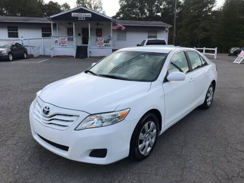 2010 Toyota Camry for sale at CVC AUTO SALES in Durham NC