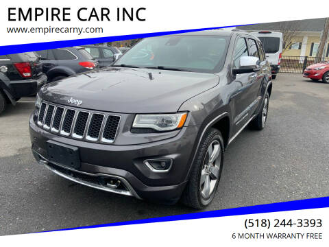 2014 Jeep Grand Cherokee for sale at EMPIRE CAR INC in Troy NY
