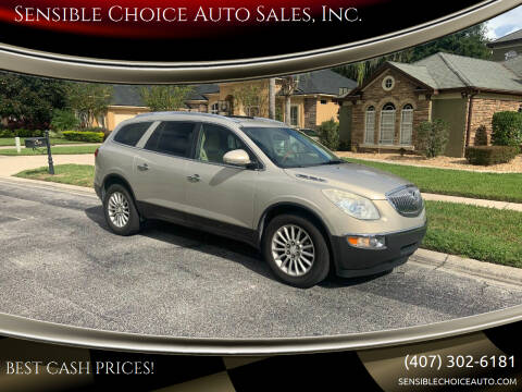2011 Buick Enclave for sale at Sensible Choice Auto Sales, Inc. in Longwood FL