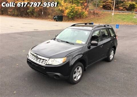 2013 Subaru Forester for sale at Wheeler Dealer Inc. in Acton MA