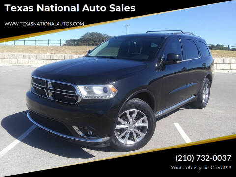 2014 Dodge Durango for sale at Texas National Auto Sales in San Antonio TX