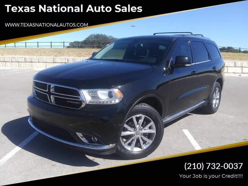 2014 Dodge Durango for sale at Texas National Auto Sales in San Antonio TX