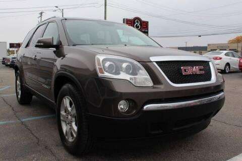 2008 GMC Acadia for sale at B & B Car Co Inc. in Clinton Twp MI