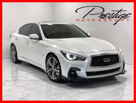 2019 Infiniti Q50 for sale at Prestige Motorsport in Rancho Cordova CA