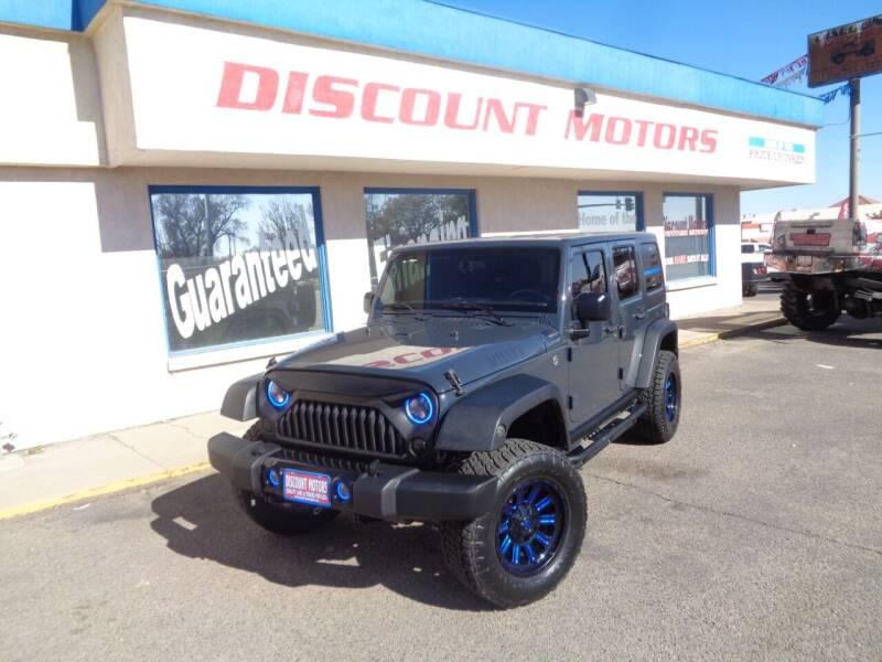 2018 Jeep Wrangler JK Unlimited for sale at Discount Motors in Pueblo CO