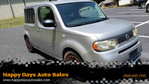 2010 Nissan cube for sale at Happy Days Auto Sales in Piedmont SC