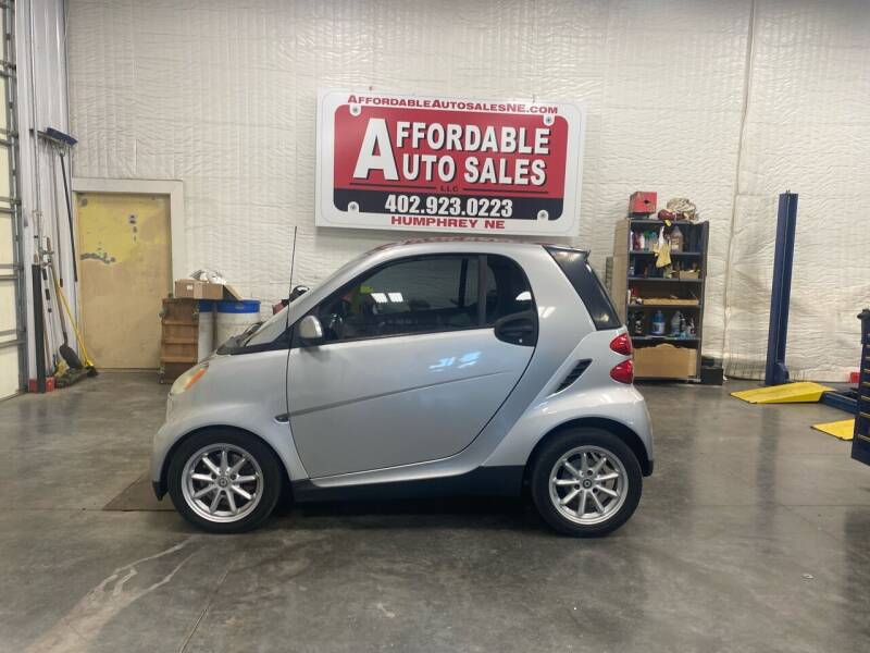 2008 Smart fortwo for sale at Affordable Auto Sales in Humphrey NE