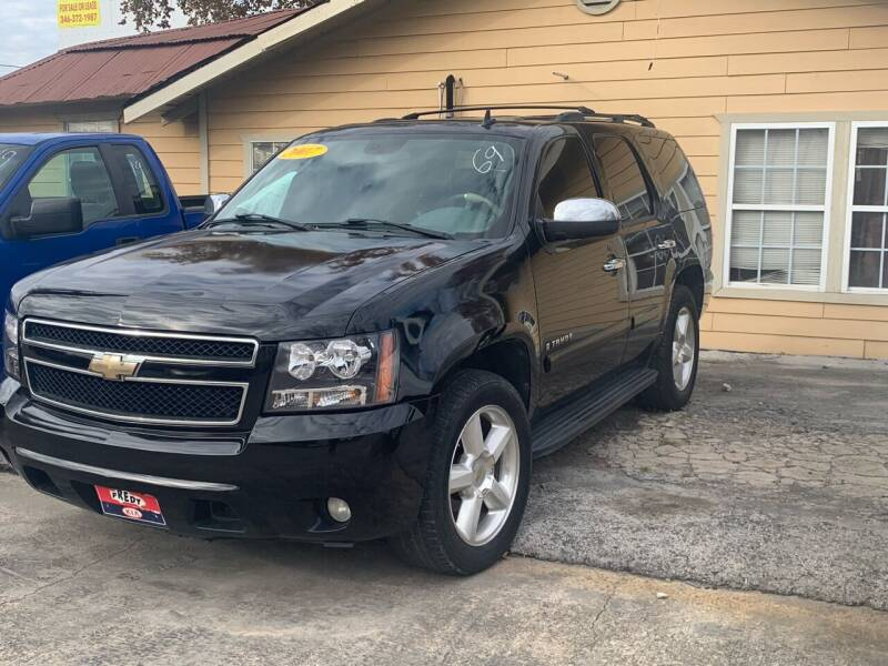 2007 Chevrolet Tahoe for sale at FREDY CARS FOR LESS in Houston TX