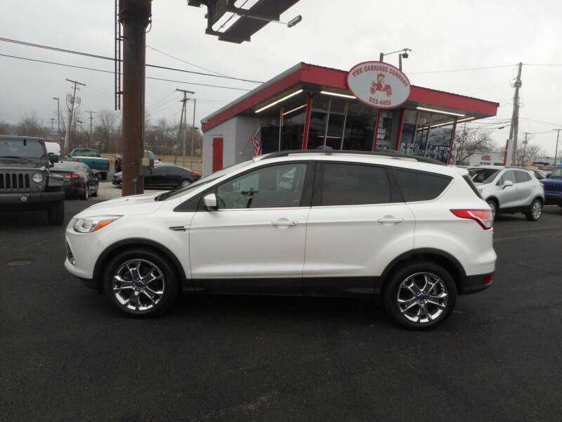 2014 Ford Escape for sale at The Carriage Company in Lancaster OH