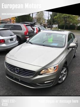 2014 Volvo S60 for sale at European Motors in West Hartford CT